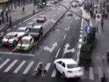Atropello en China