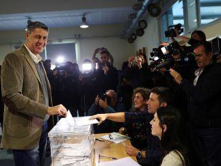 """Albiol vota por """"la libertad en Cataluña"""""""
