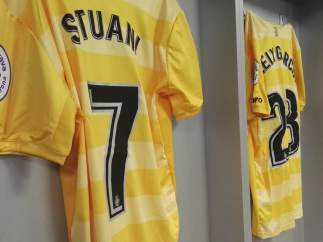 Camiseta amarilla del Girona