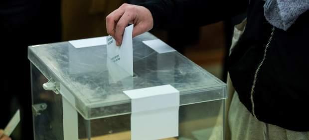 Un votante en las elecciones catalanas