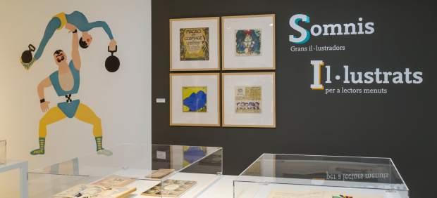 Una imagen de la exposición 'Sueños ilustrados'