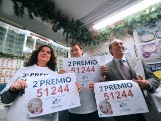 Córdoba recibe con una sonrisa el segundo premio