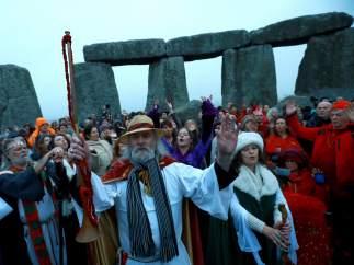 Solsticio de invierno en Stonehenge
