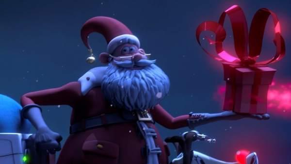 Fotograma del corto 'V Santa'