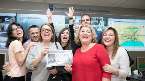 El Gordo regala 129 millones a Málaga