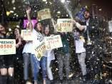 Doña Manolita en Madrid reparte el gordo, el segundo premio y quintos