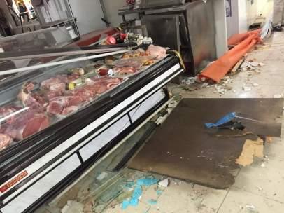 Explosión en el Mercado de Abastos de Lorca