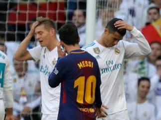 Cristiano, Kroos y Messi