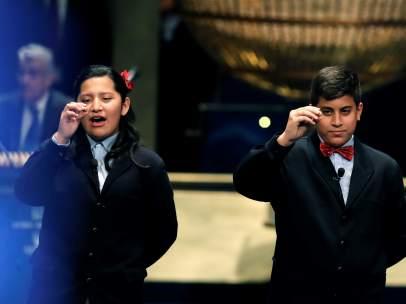 La Lotería de Navidad en La 1 consigue un 44,7 % de cuota de pantalla
