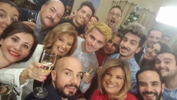 El selfie de Las Campos