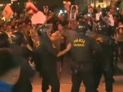 Protestas en Perú por el indulto a Fujimori
