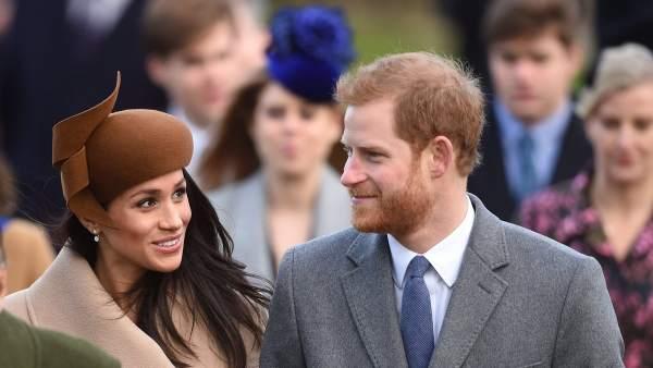 Meghan Markle y el príncipe Enrique