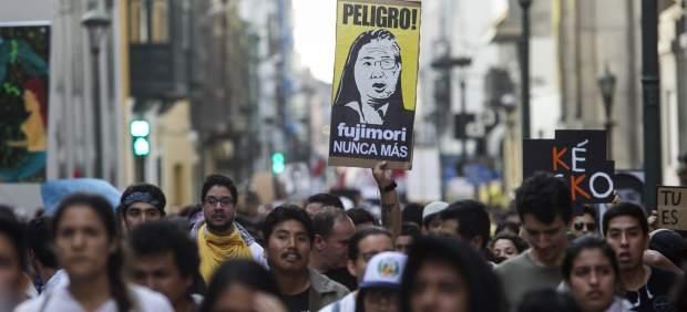 Protestas por el indulto a Alberto Fuijimori