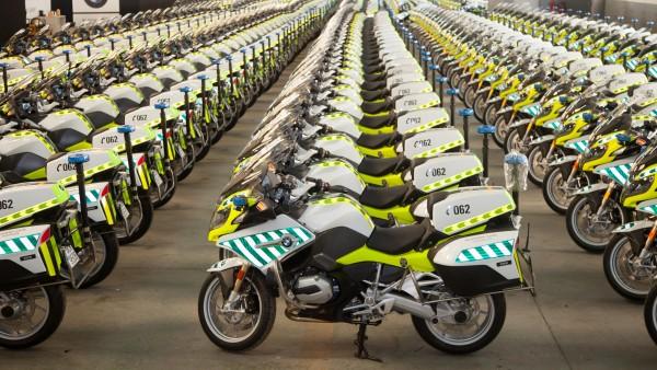 Nuevas motos de la DGT