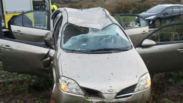 Accidente en Paterna (Cádiz)