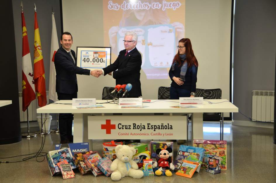 Caixabank dona euros a cruz roja cyl para llevar for Pisos caixabank