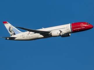 Un avión comercial de Norwegian bate el récord de rapidez en un vuelo transatlántico