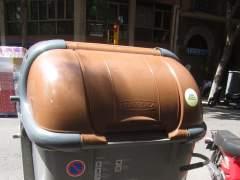 Contenedor de orgánica en Barcelona.