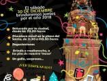 Cartel fiesta Nochevieja Santo Domingo