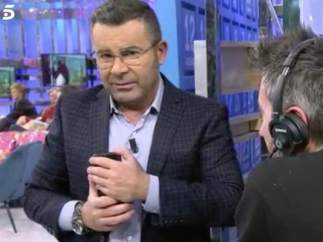 """Jorge Javier Vázquez, con Buenafuente: """"Acostarse es lo que hay que hacer primero, antes de preguntar el nombre"""""""