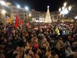 Un millar de personas apoyan a los concejales de la CUP de Reus detenidos