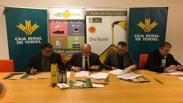 Caja rural de teruel renueva su apoyo a tres d o de arag n for Caja rural de teruel oficinas