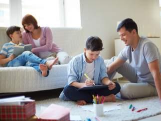 Pasar más tiempo en familia
