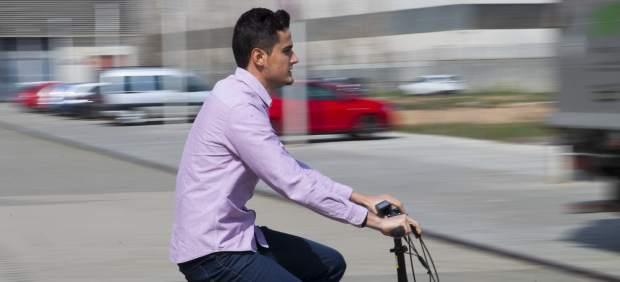 Bicicleta elèctrica.