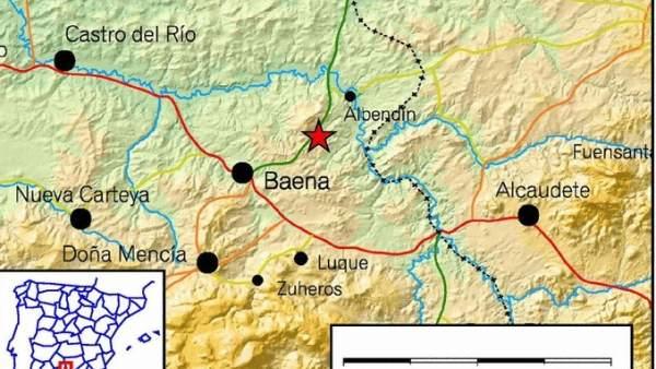 Seísmo en Baena, Córdoba
