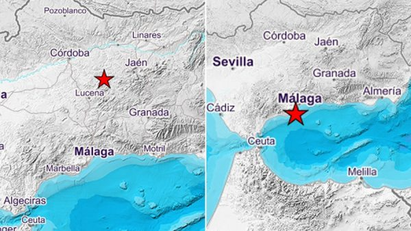 Dos terremotos sacuden Córdoba y Málaga