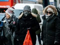 Frío en Manhattan, NY