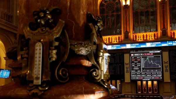 Bolsa española 29 diciembre 2017. EFE