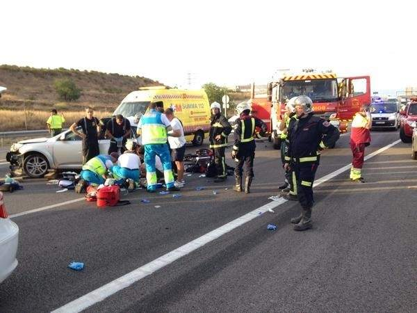 Un total de 122 personas murieron en accidente de tr fico for Ahorro total avila