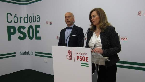 María Jesús Serrano y Antonio Hurtado