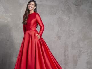 Primer vestido de Cristina Pedroche Campanadas 2017