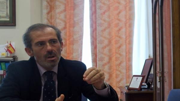 Francisco Javier Lara, decano del colegio de abogados. 2017
