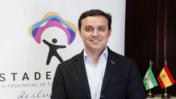 El vicepresidente de la Diputación de Almería, Javier Aureliano García