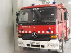 Muere un anciano en un incendio en Sant Boi de Llobregat (Barcelona)
