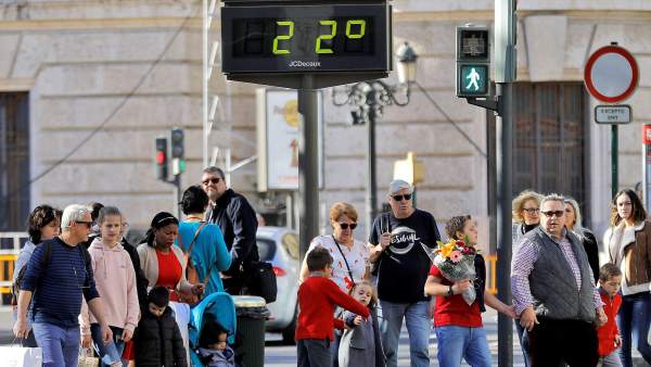 Temperaturas primaverales en València