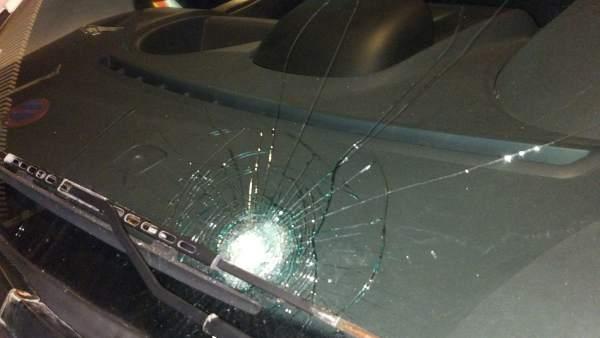 Daño en uno de los vehículos