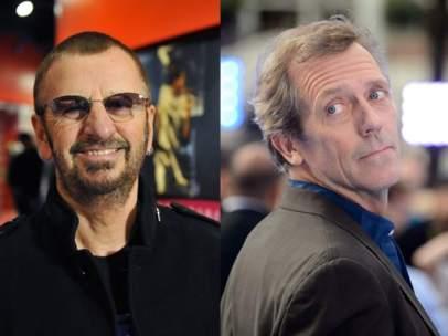 Ringo Starr, Hugh Laurie y James Cosmo