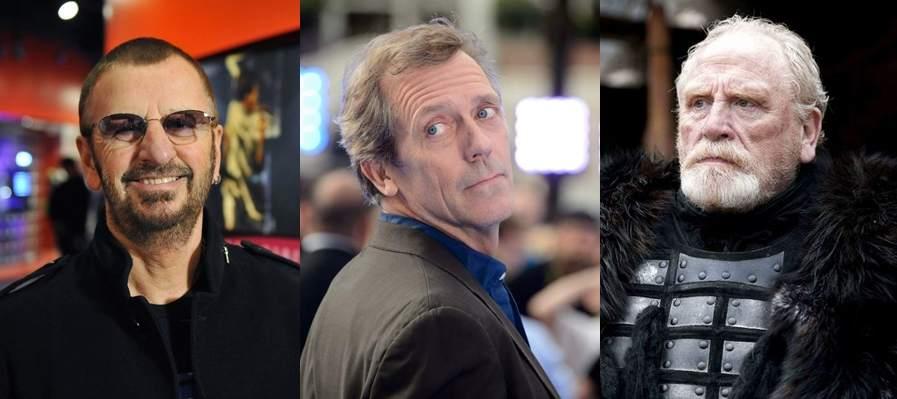 Isabel de Inglaterra nombra caballeros a Ringo Starr, al doctor House y a Jeor Mormont