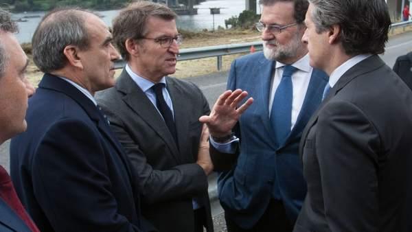 Alberto Nunez Feijoo, Asiste A Inauguracion Das Obras Da Ampliación Da Capacidad
