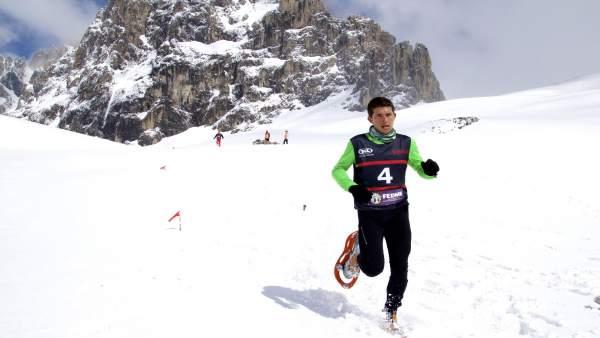 Cantabria acogerá en marzo el Campeonato Mundial de Raquetas de Nieve
