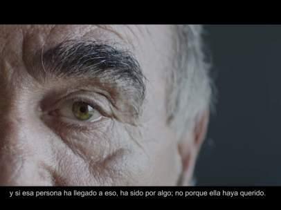 Captura del vídeo Homeless Commons, imágenes que cambian miradas, creado por arrels Fundació y Arena Media.