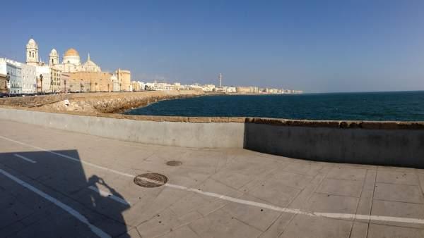 Vistas de Cádiz capital