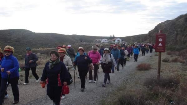Participantes en el programa 'Mayores en forma'