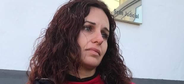 Sonia Barea, madre de los niños desaparecidos.