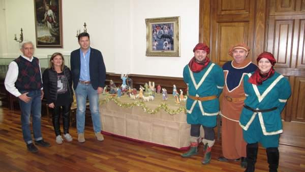 La cabalgata y el belén se han presentado hoy en el Ayuntamiento de Teruel