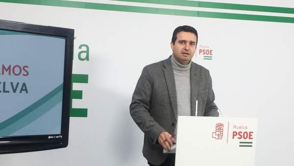 El senador socialista por Huelva, Amaro Huelva.